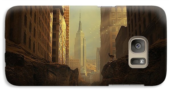 Empire State Building Galaxy S7 Case - 2146 by Michal Karcz