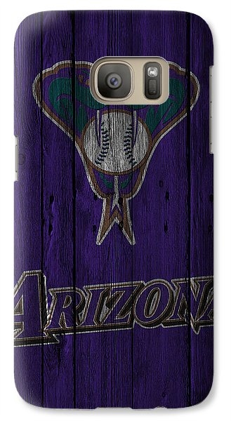 Arizona Diamondbacks Galaxy Case by Joe Hamilton