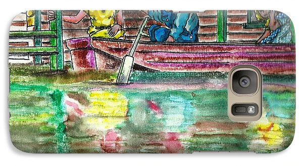 Galaxy Case featuring the painting 2410 West 2nd 1951 by The GYPSY And DEBBIE