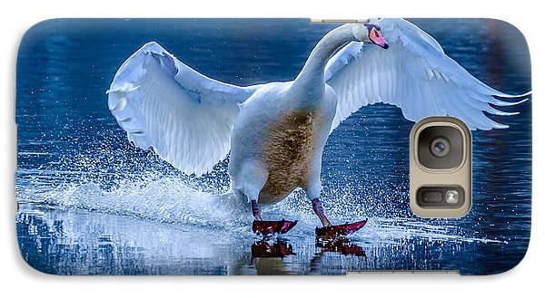 Galaxy Case featuring the photograph Mute Swan by Brian Stevens