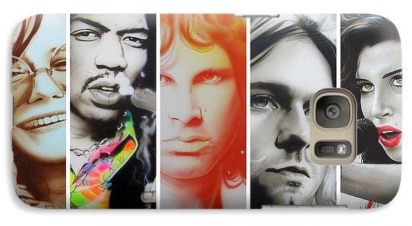 Rock And Roll Galaxy S7 Case - 27 Eternal by Christian Chapman Art