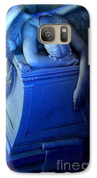 Galaxy Case featuring the photograph Angelic Sorrow by Michael Hoard