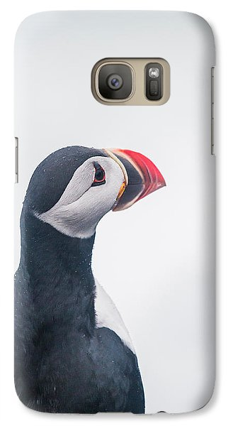 Puffin Galaxy S7 Case - Atlantic Puffin Fratercula Arctica by Panoramic Images