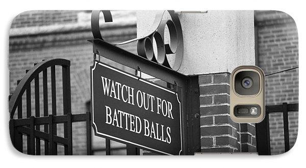 Baseball Warning Galaxy Case by Frank Romeo