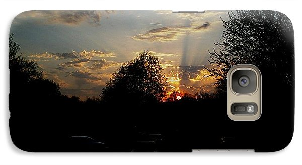 Galaxy Case featuring the photograph Beauty In The Sky by Kelly Awad