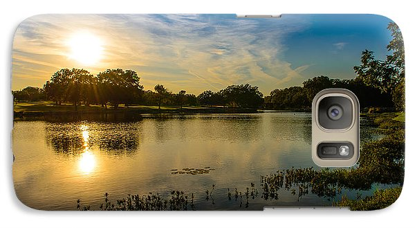 Galaxy Case featuring the photograph Berry Creek Pond by John Johnson