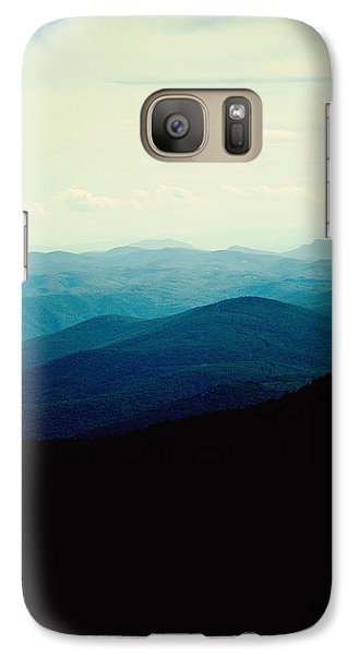Blue Ridge Mountains Galaxy S7 Case by Kim Fearheiley