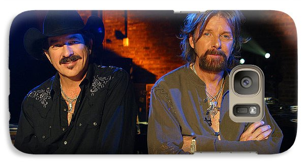 Galaxy Case featuring the photograph Brooks And Dunn by Don Olea