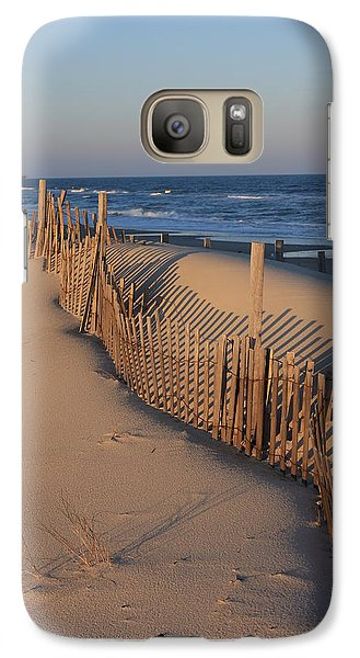 Galaxy Case featuring the photograph Cape Hatteras Dunes  by Mountains to the Sea Photo