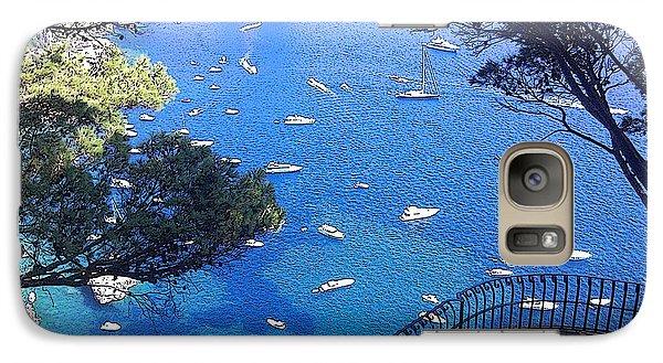 Galaxy Case featuring the photograph Capri by Ze  Di