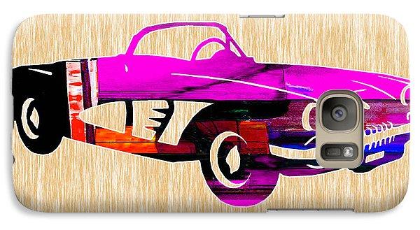 Classic Corvette Galaxy Case by Marvin Blaine