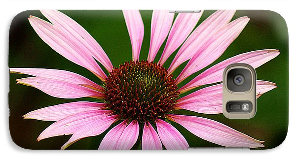 Galaxy Case featuring the photograph Coneflower - Echinacea by Lisa L Silva