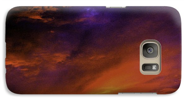 Galaxy Case featuring the photograph 'end Of Day' by Michael Nowotny