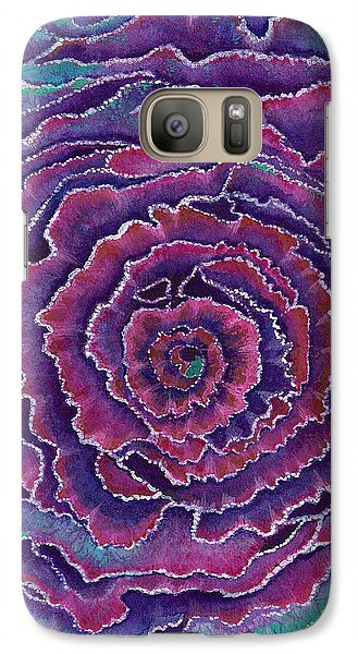 Galaxy Case featuring the painting Eye Of The Storm by Nan Wright