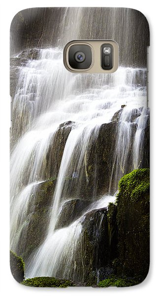 Galaxy Case featuring the photograph Fairy Falls by Patricia Babbitt