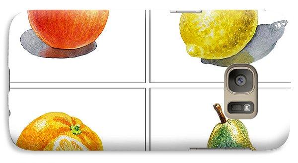 Lemon Galaxy S7 Case - Farmers Market Delight  by Irina Sztukowski