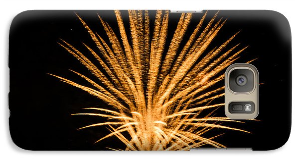 Galaxy Case featuring the photograph Fireworks by Cathy Donohoue