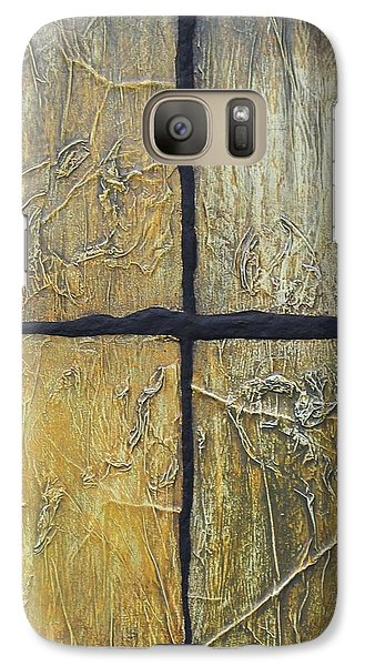 Galaxy Case featuring the mixed media Four Seasons. by Steve  Hester