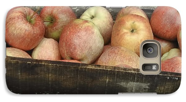 Galaxy Case featuring the photograph French Market Apples by Catherine Fenner