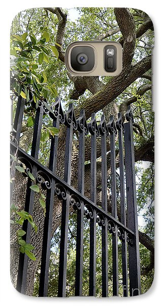 Galaxy Case featuring the photograph Gates Of Charleston by Gina Savage