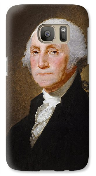 George Washington Galaxy S7 Case by Gilbert Stuart