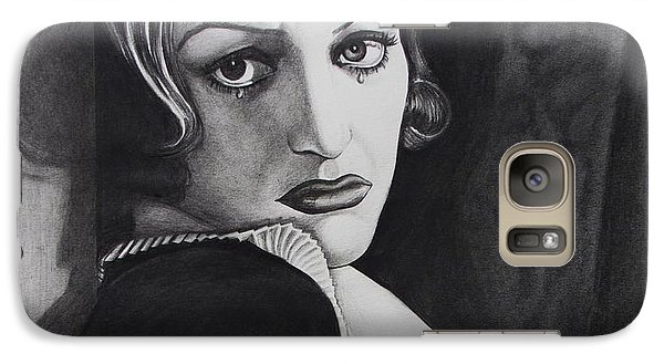 Galaxy Case featuring the drawing Grand Hotel   by Joseph Sonday