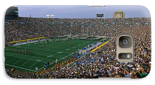 High Angle View Of A Football Stadium Galaxy S7 Case
