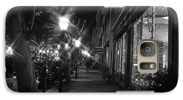 Galaxy Case featuring the photograph It's Christmas Time In The City by Living Color Photography Lorraine Lynch