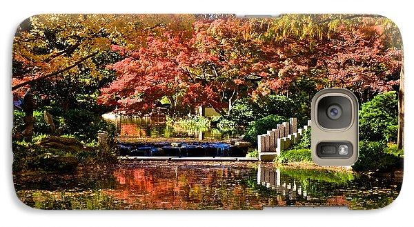Galaxy Case featuring the photograph Japanese Gardens by Ricardo J Ruiz de Porras