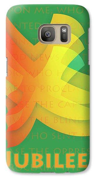 Galaxy Case featuring the digital art Jubilee by Chuck Mountain