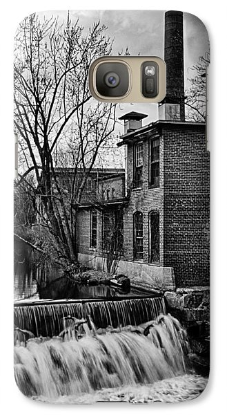Galaxy Case featuring the photograph Little River Dam by Betty Denise