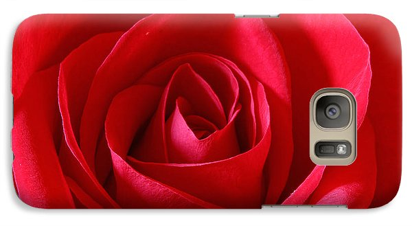 Red Rose Galaxy S7 Case