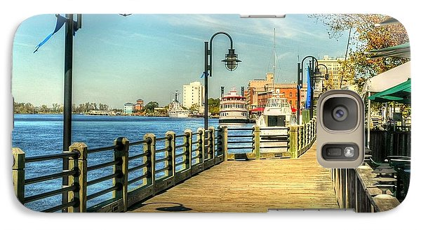 Galaxy Case featuring the photograph River Walk by Ed Roberts