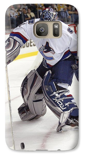Galaxy Case featuring the photograph Roberto Luongo by Don Olea