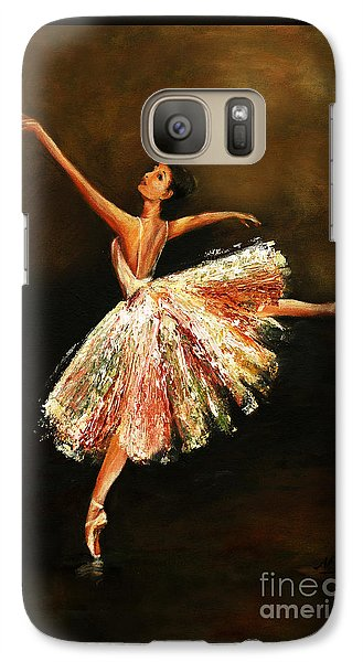 Galaxy Case featuring the painting Second Arabesque by Nancy Bradley