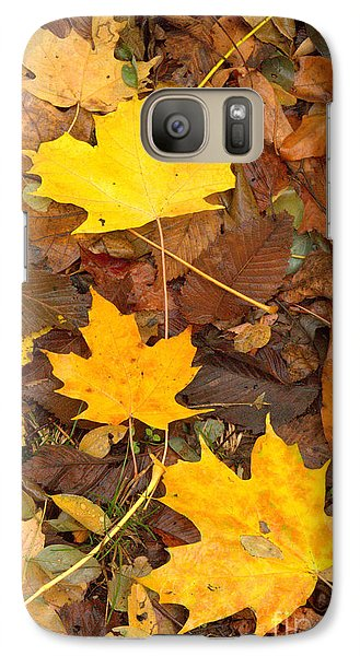 Galaxy Case featuring the photograph 3 Shades Of Yellow by Jim McCain