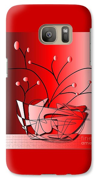 Galaxy Case featuring the drawing Simplicity by Iris Gelbart