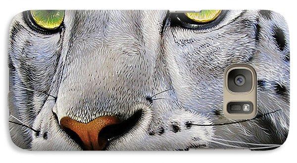 Snow Leopard Galaxy S7 Case by Jurek Zamoyski