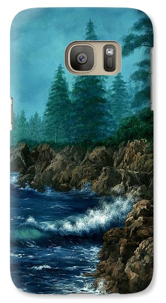 Galaxy Case featuring the painting Solitude by Lynne Wright