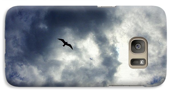 Galaxy Case featuring the photograph Storm Flyer by Marilyn Wilson