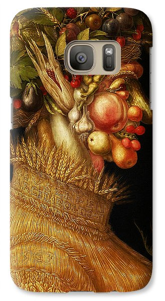 Galaxy Case featuring the digital art Summer by Giuseppe Arcimboldo