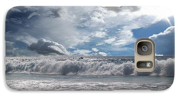 Galaxy Case featuring the photograph Sunlight by Athala Carole Bruckner