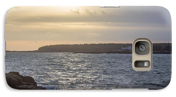 Galaxy Case featuring the photograph Sunset Schoodic Peninsula by Trace Kittrell