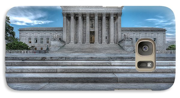 Galaxy Case featuring the photograph Supreme Court by Peter Lakomy