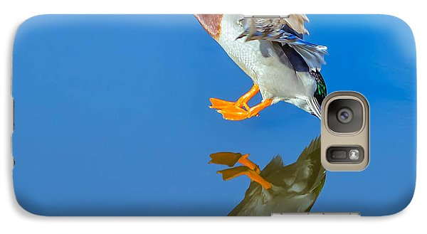 Galaxy Case featuring the photograph The Arrival by Brian Stevens