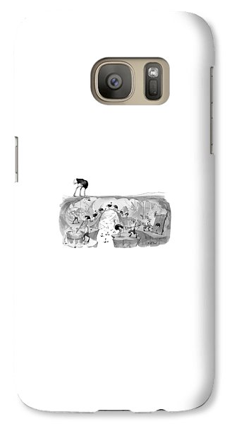 Emu Galaxy S7 Case - New Yorker October 31st, 2016 by Will McPhail