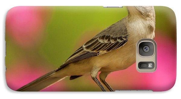 Mockingbird Galaxy S7 Case - Usa, North Carolina, Guilford County by Jaynes Gallery