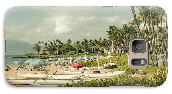 Wailea Beach Maui Hawaii Galaxy S7 Case