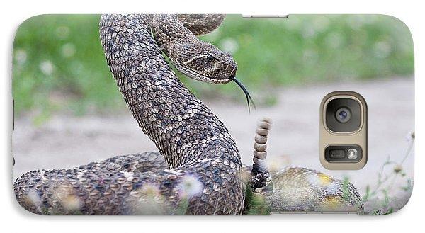 Western Diamondback Rattlesnake Galaxy S7 Case