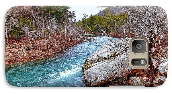 Galaxy Case featuring the photograph White's Creek by Paul Mashburn